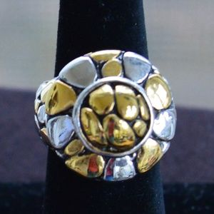 Jewelry - Gold, Silver Statement Ring, Size 6